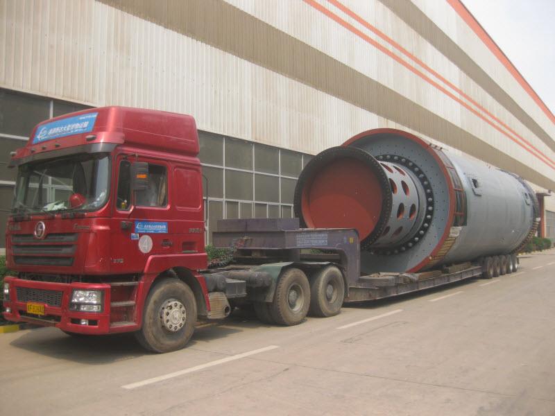 中材装备唐山重机乌海西水项目水泥磨完工